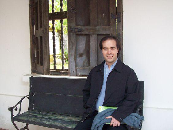 Pablo en el Cabildo de Luján