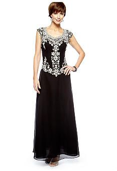 Placed Floral Sheath Dress  Beaded gown Gowns and Beaded dresses