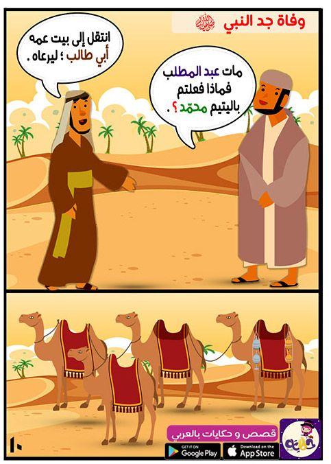 قصة مولد النبي محمد من قصص السيرة النبوية للاطفال مصورة بتطبيق حكايات بالعربي Free Books Download Books Free Books