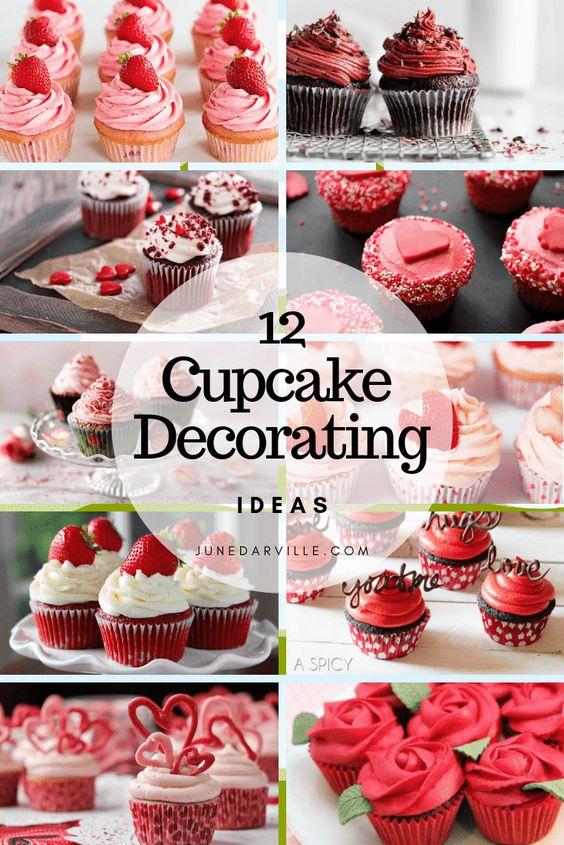 12 Easy Valentine Cupcakes Decorating Ideas | Simple. Tasty. Good.