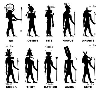 Everything they teach about Egypt in most schools is distorted. The people of Egypt called their country Kemet not Egypt. Kemet means black land. Egypt is a Greek concept. Egypt is derived from theGreekwordAegyptos. The greeks called the kemetians languagehieroglyphs, but the people of Kemet called their language Medu Neter. Even the names we learn of the gods are wrong.