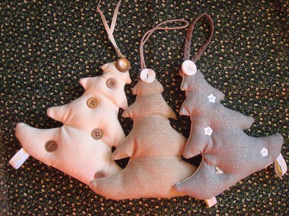 Sapins de Noël Nature