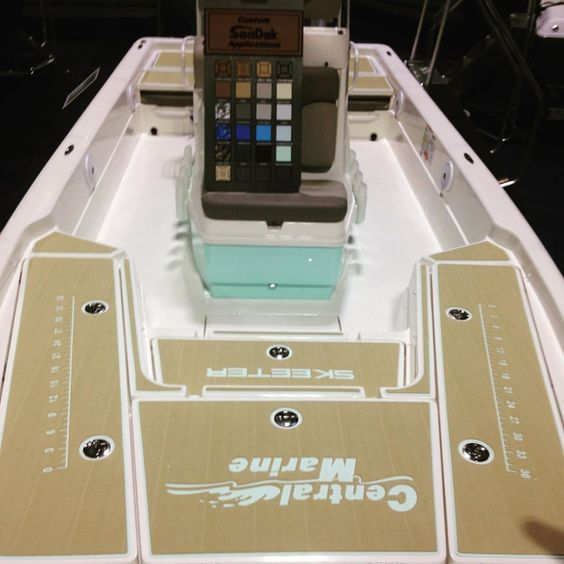 SeaDek Booth 156 at the Tampa Boat Show - Castaway Customs  Please visit their website http://www.castawaycustoms.com/ or check them out on FaceBook: https://www.facebook.com/Castaway-Customs-1733121…/timeline/