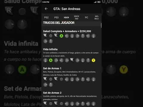 Trucos De Gta San Andreas Para Xbox Youtube San Andreas Youtube Gta