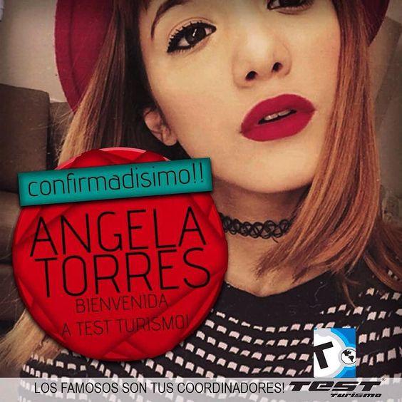 Bienvenida Angela a #TestTurismo ella es un bombón y se suma al viaje de #DisneyconTEST  Que llegue ya febrero! Anotate  Llamando al (221) 489-6667 de 9 a 12 y de 16 a 19 Mail: info@testestudiantil.com.ar by testviajes