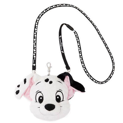 Tokyo Disney Gelatoni Face Pass Case Duffy Friends Shoulder Pouch Plush Coin Bag