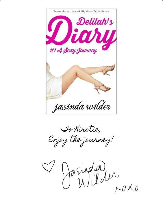 Delilah's Diary - Jasinda Wilder
