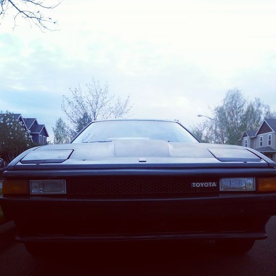 My 1984 Toyota Celica Supra My baby made it to and from Portland with no problems! #Toyota #Supra #CelicaSupra #MKIISupra