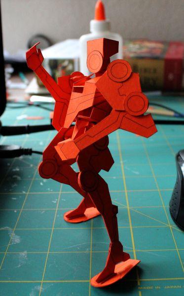 Paper robot, nice!