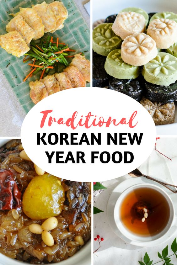 Traditional Korean New Year Food from Soups to Desserts