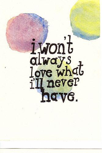 I won't always live in my regret...  Jimmy Eat World - 23
