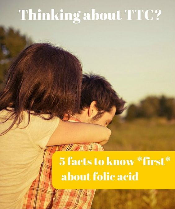 Are you thinking about TTC? Here's five facts to know about folic acid *before* you even start trying (were you aware of all of these?)