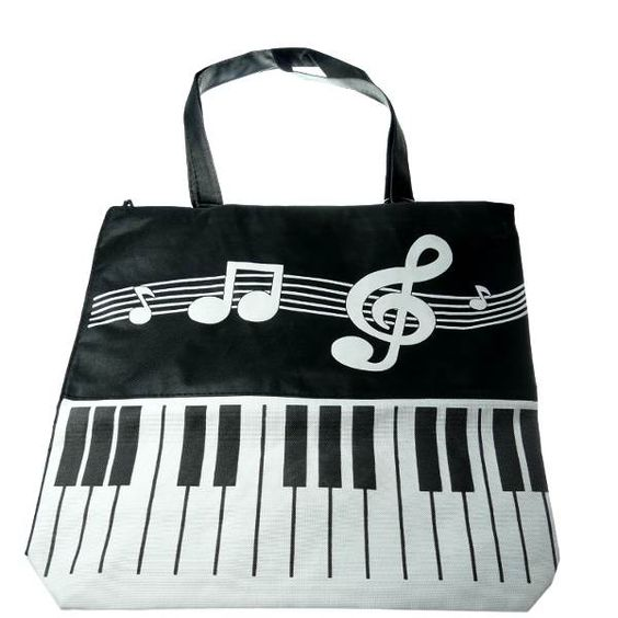 Can You Bring Backpacks Into Disney World: Music Note Tote! #music Http://www.pinterest.com
