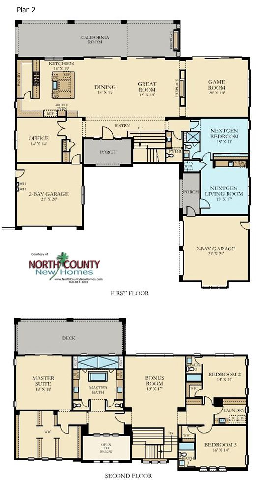 Sterling Heights At The Lakes North County New Homes Multigenerational House Plans Dream House Plans Barndominium Floor Plans