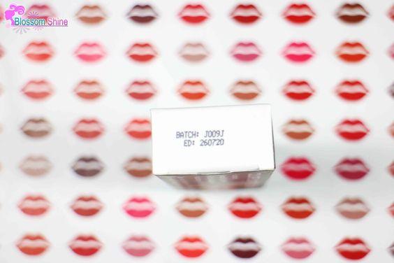 Expiry Date Label Odessa Matte Lipstick