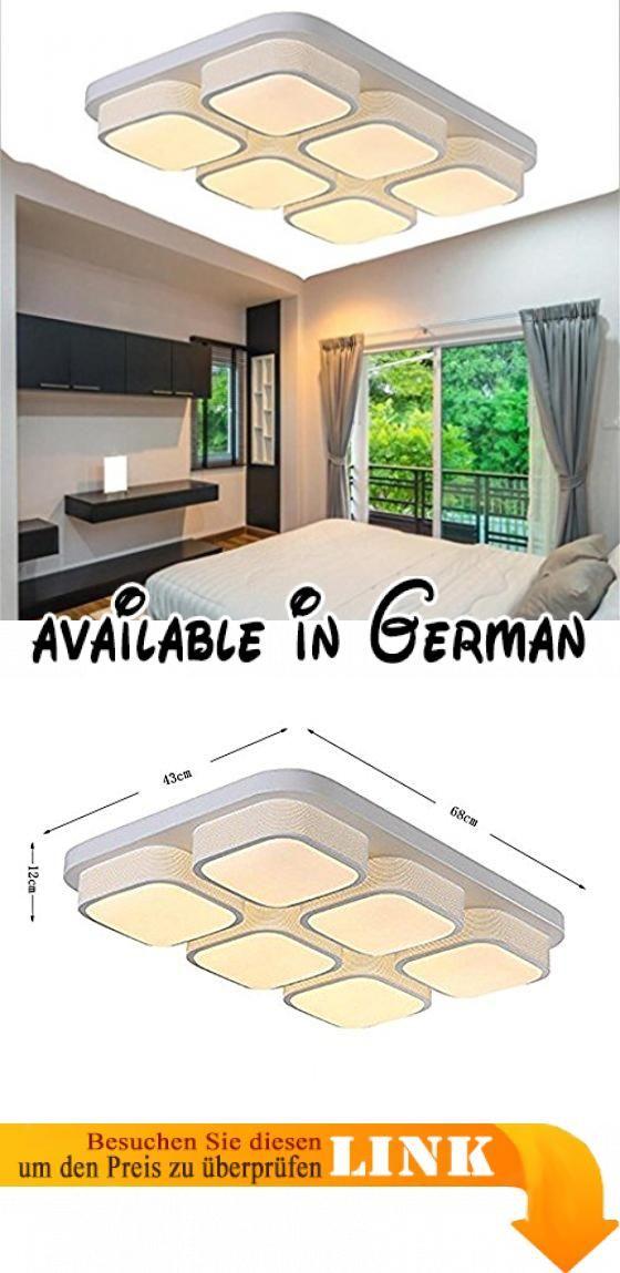 Deckenleuchten-Quadrat Wohnzimmer moderne, minimalistische Leuchte - deckenleuchten für schlafzimmer