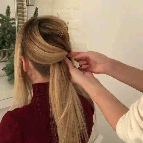 How To Home Simple Easy Hair Style New Hairstyles Videos 1 New Hairstyle Video Hair Videos Easy Hairstyles