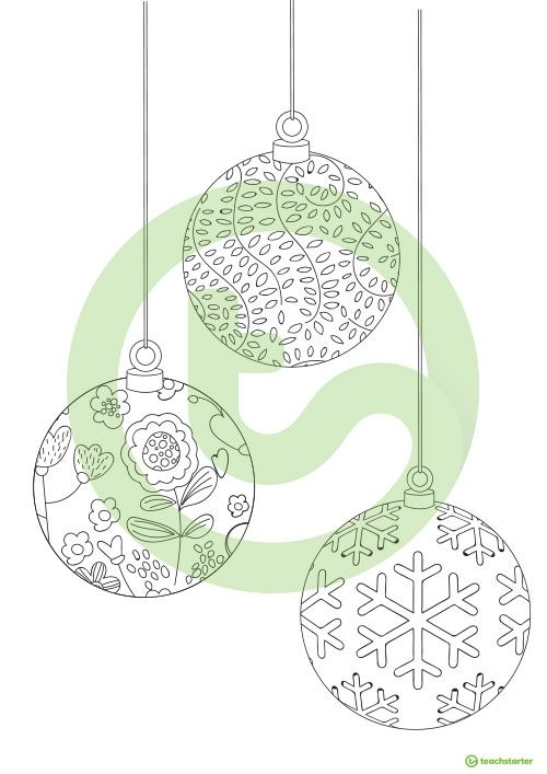 Christmas Mindful Colouring In Sheets Teaching Resource Teach Starter Coloring Sheets Mindfulness Colouring Christmas Colors