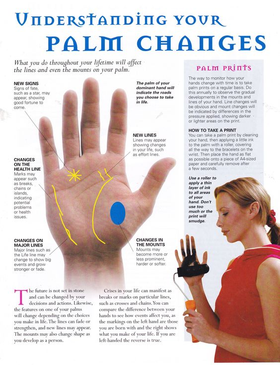 Divination:  #Palmistry ~ Understanding Your Palm Changes.