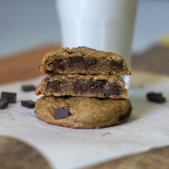 Single Serving Buckwheat Chocolate Chip Cookies (Nut-free, Grain-free ...