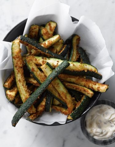 panko breaded zucchini fries