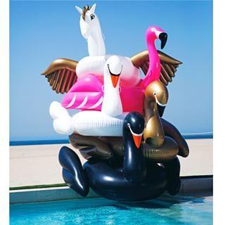 FUNBOY luxury floats, flamingo swan Pegasus:
