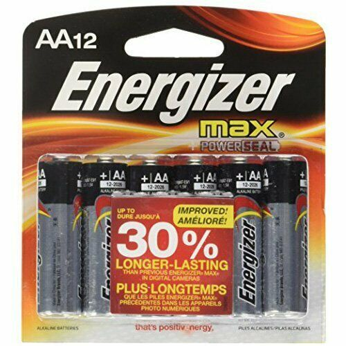 Ebay Sponsored Energizer Batteries E91bp 12 12pk Enr E91mp 12 Max Aa Energizer Battery Energizer Alkaline Battery