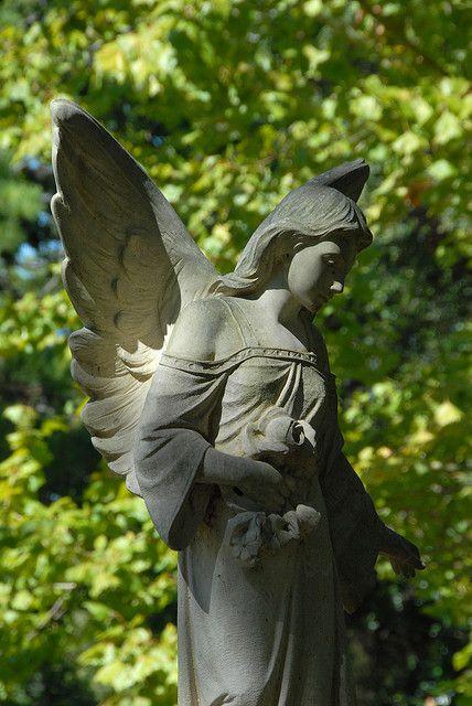 Glenwood Cemetery Angel