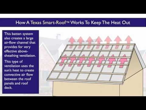 Houston Cool Roof Design The Texas Smart Roof Youtube Cool Roof Roof Design Corrugated Metal Roof