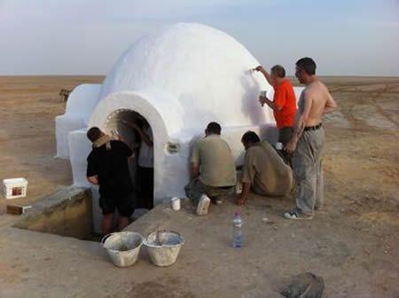 Star Wars Fans Travel to Tatooine to Restore Luke Skywalker's Home
