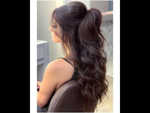 Event Hairstyle تسريحات شعر للمناسبات Youtube Bun Hairstyles For Long Hair Event Hairstyles Long Hair Ponytail