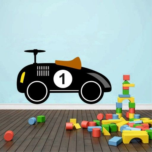 Naklejka Na Sciane Dla Dzieci Auta Kolory 7477685774 Oficjalne Archiwum Allegro Wooden Toy Car Toy Car Wooden Toys