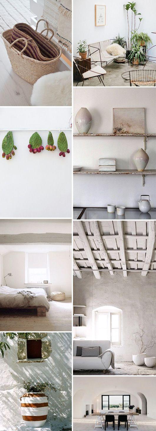 inspiring home decor in neutral palatte / sfgirlbybay