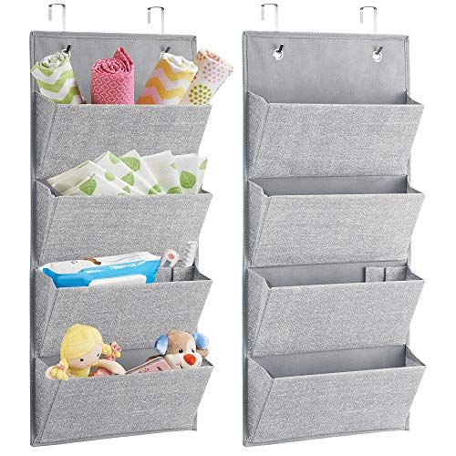 Door Hanging Organiser for Wall or Door Baby Hanging Storage Organiser 4 Large