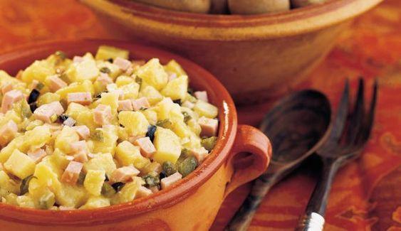 MAGGI Rezeptidee fuer Kartoffel-Wurst-Salat