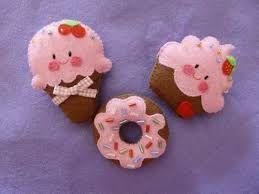 donuts em feltro - Pesquisa Google