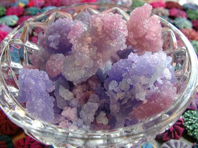 Sunshine's Creations.Vintage Threads Inc.: Family Fun Old Fashioned Candy Crystals / Rock Candy