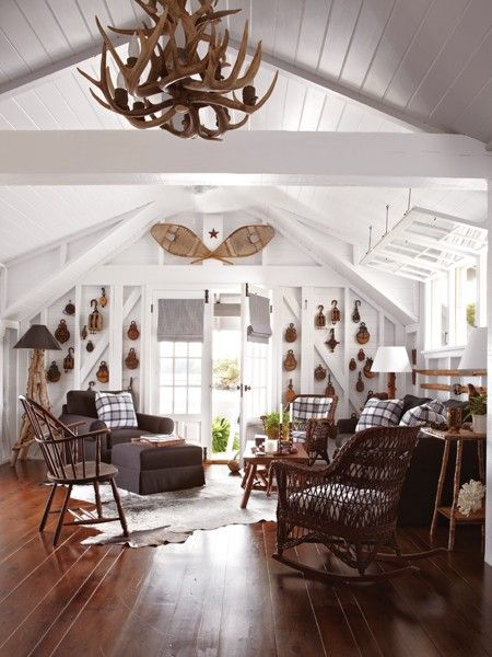 Classic Muskoka Style | Photo Gallery: Traditional Cottages | House & Home | photo Virginia Macdonald