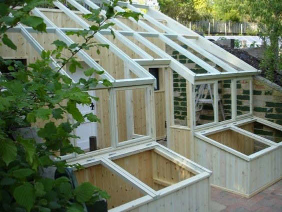 Greenhouses Lean To And Green Houses On Pinterest