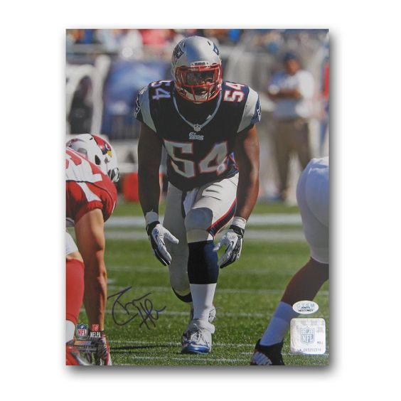 Autographed Donta Hightower 8-by-10 inch unframed photo