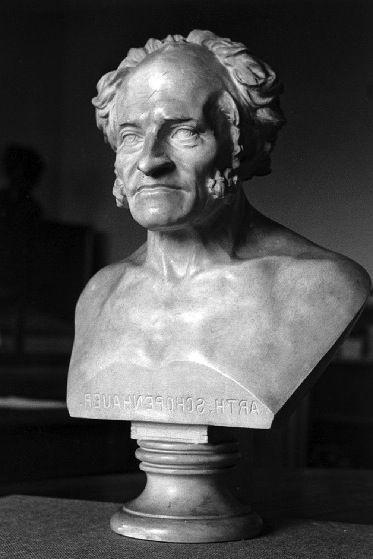 Elisabet Ney (1833-1907) Arthur Schopenhauer Portrait Bust ...