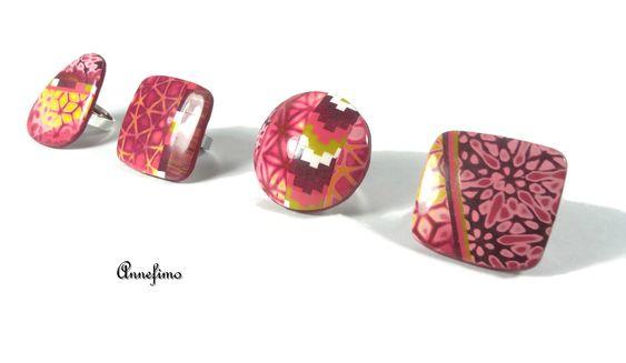 bagues rose-jaune