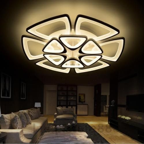 Details About Acrylic Modern Led Ceiling Lights For Living Room