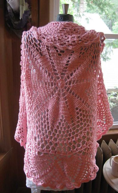 Ravelry: Pink Mix Circular Cardigan pattern by Heidi Walsh  I'd never get this done, but it's gorgeous!