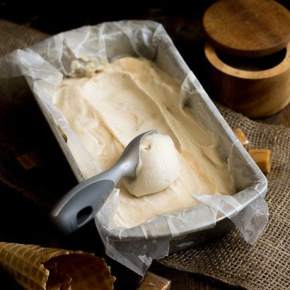 Salted Caramel Ice Cream (Vegan) - 40 Aprons