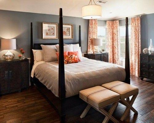 Vintage schlafzimmermöbel ~ Ideen schlafzimmer eklektisch antike kommode vintage hocker