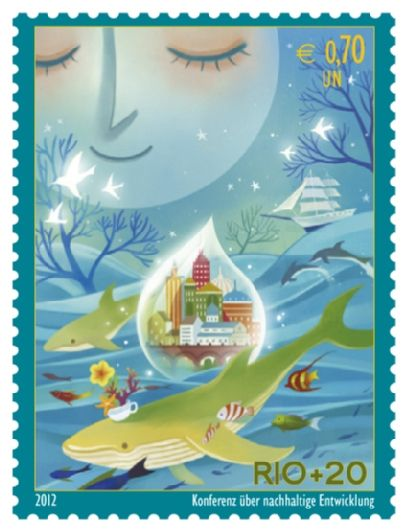 I francobolli dell'ONU, tra arte e solidarietà http://f4b.in/Jwd3OV