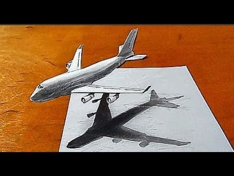 How To Draw A Plane Step By Step Drawings Draw Whale