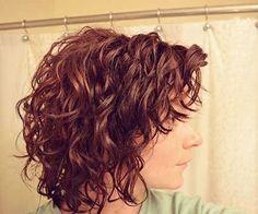Curly Wavy Short Bob
