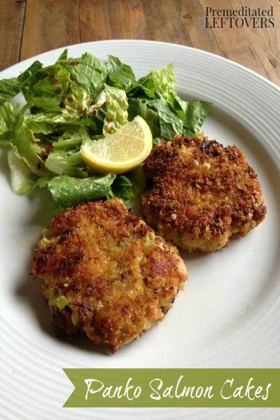 Panko Salmon Cakes Recipe Easy Recipes Dry Mustard